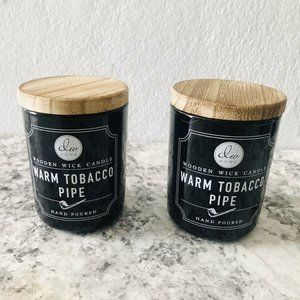 DW Home (Lot of 2) Warm Tobacco Scent Candle